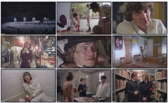 Заводной апельсин / A Clockwork Orange (1971)