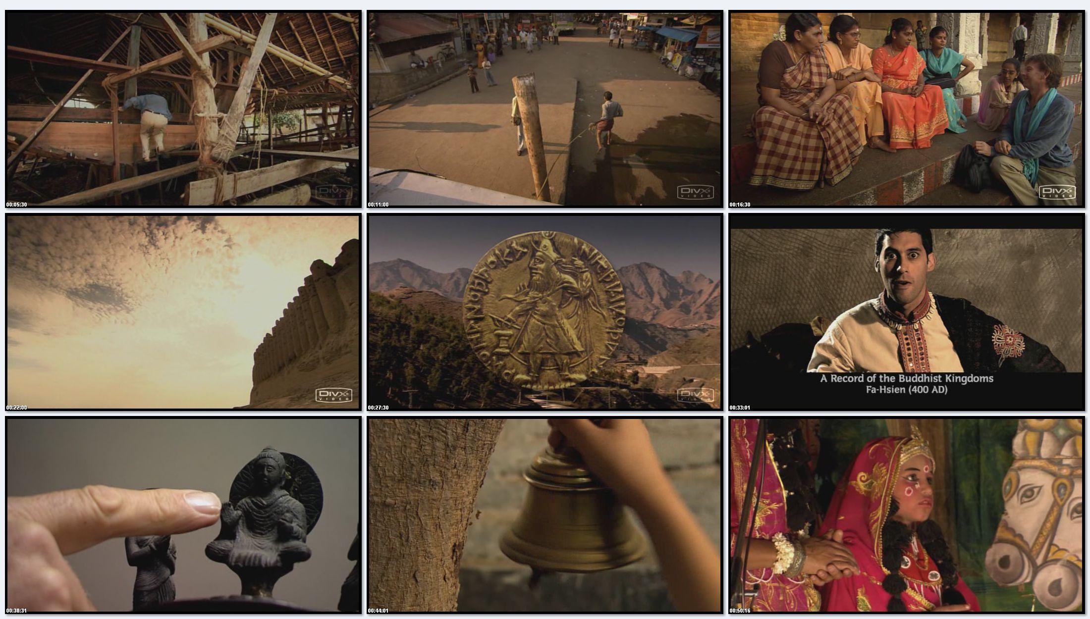 ВВС: Индия с Майклом Вудом. Путь пряностей и Великий шелковый путь (фильм 3)