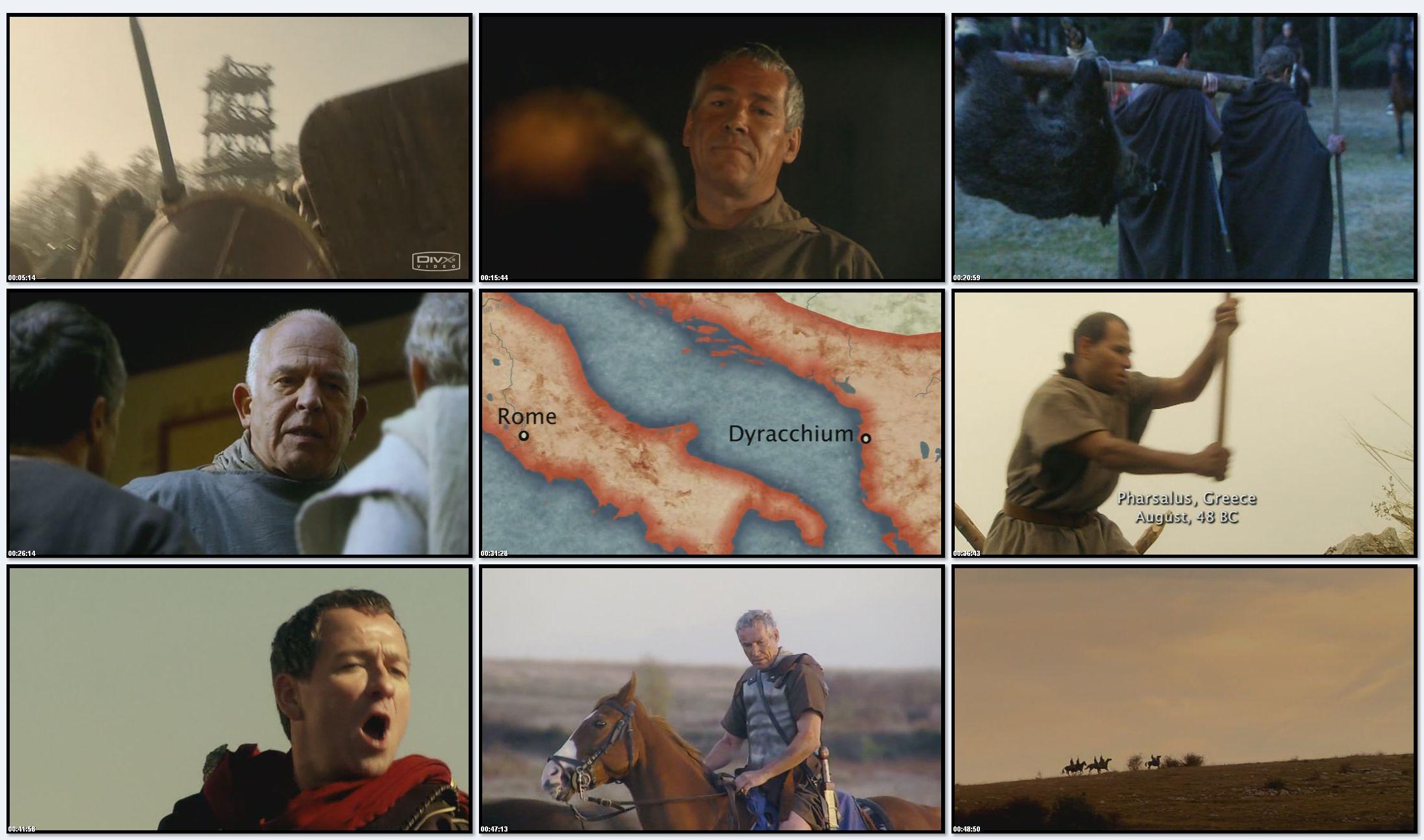 BBC: Древний Рим. Рассвет и Падение Империи - Цезарь (фильм 2) (2007)