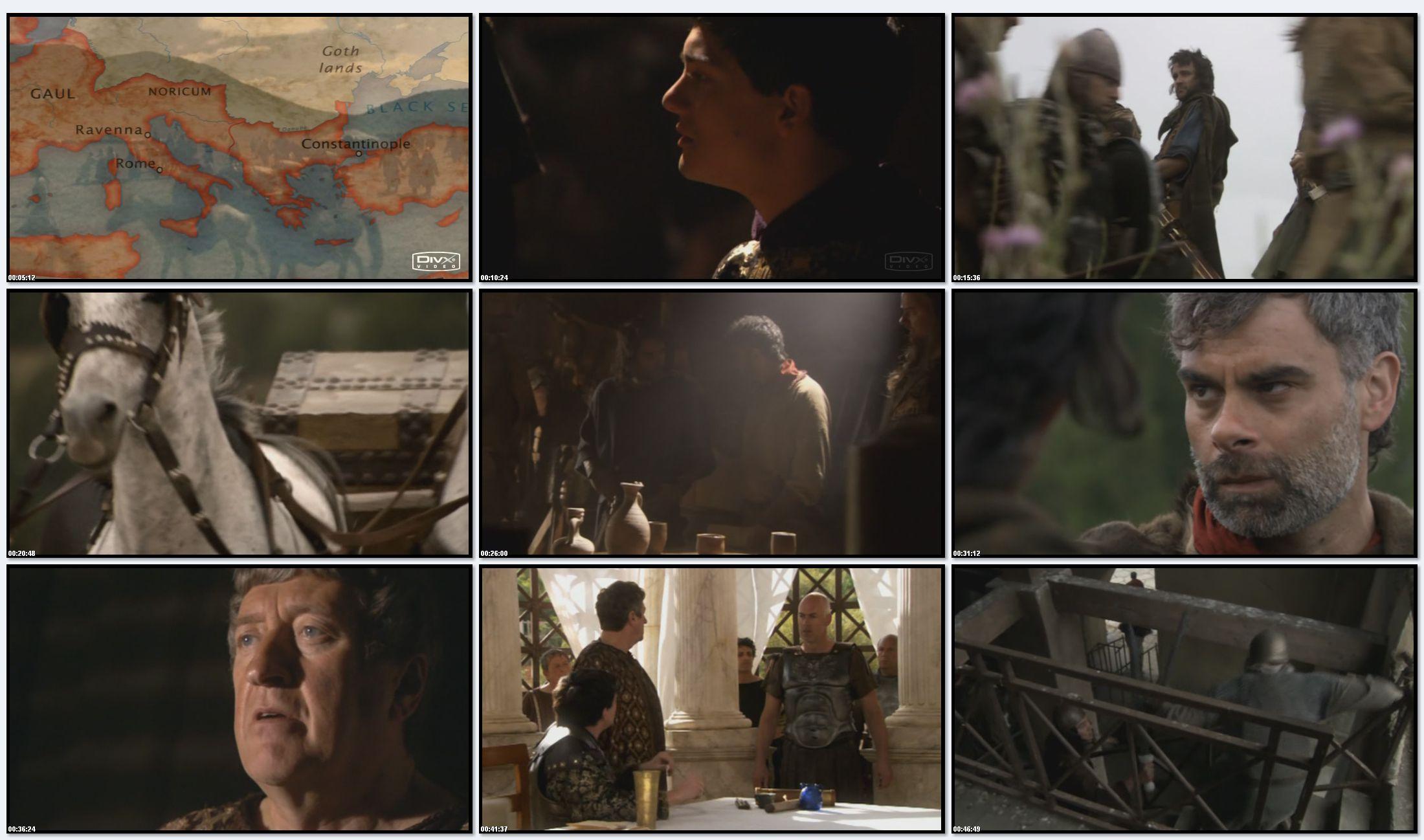 BBC: Древний Рим. Рассвет и Падение Империи - Падение Рима (фильм 6) (2007)